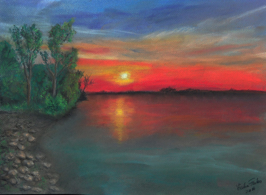 Erika_Farkas_Lake_sunset