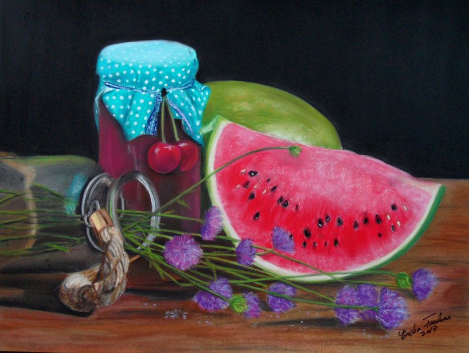 Erika_Farkas_Watermelon_medley