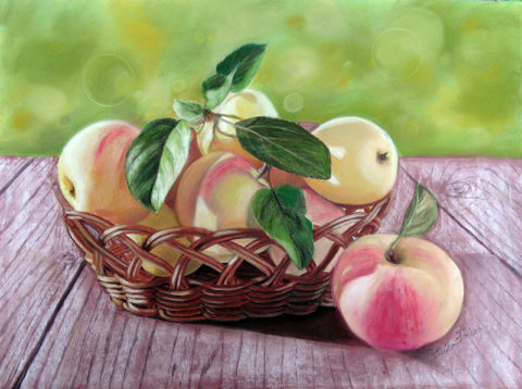 Basketful of Apples