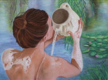 Erika_Farkas_Morning_bath_at_the_lake