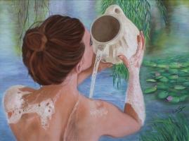 Erika_Farkas_Morning_bath_at_the_lake_sm