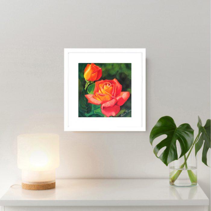 flaming_rose_wall